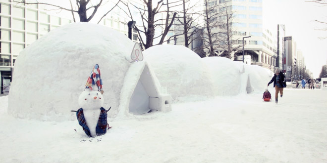 igloo snow festival