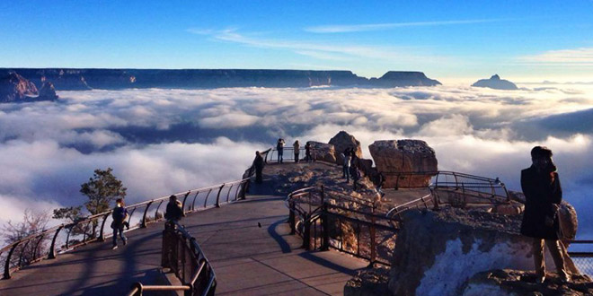 inversion meteo grand canyon