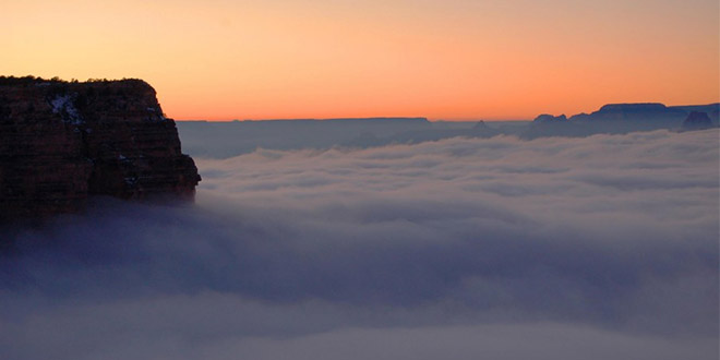 inversion totale grand canyon
