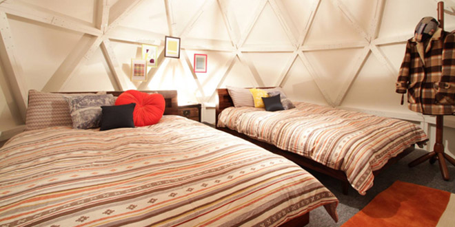 japon igloo location airbnb