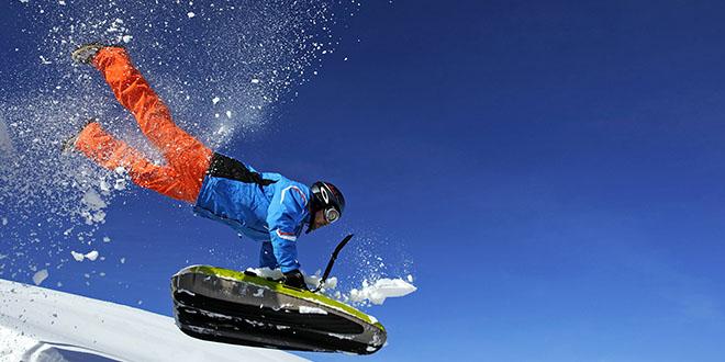 luge airboard sport glisse
