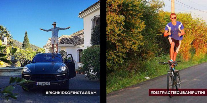 parodie richkids kfc instagram 5