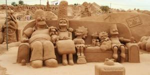 sculpture sable simpsons