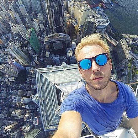 selfie de l extreme