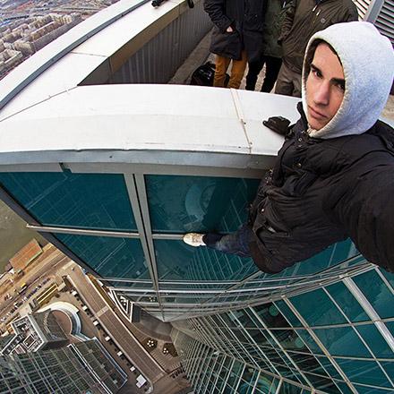 selfie extreme