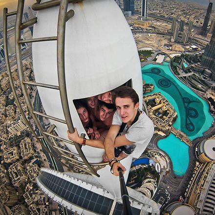 selfie unique extreme