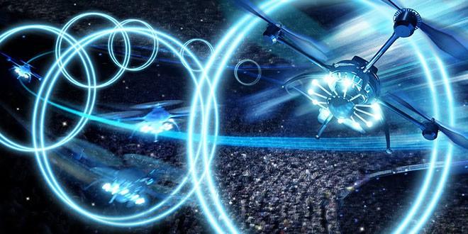 spectacle de drones amsterdam