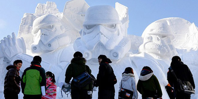 star wars festival glace japon