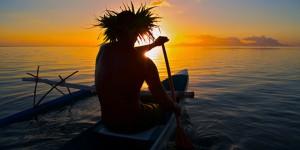 tahiti barque eau