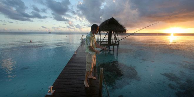 tahiti peche coucher de soleil