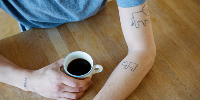 tatouage fils dessins