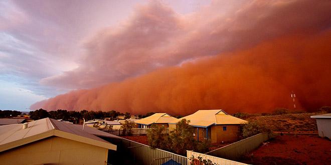 tempete sable australie 2013