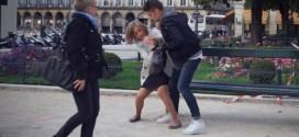 the agression paris femme camera cachee