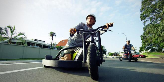 trick course tricycle a moteur