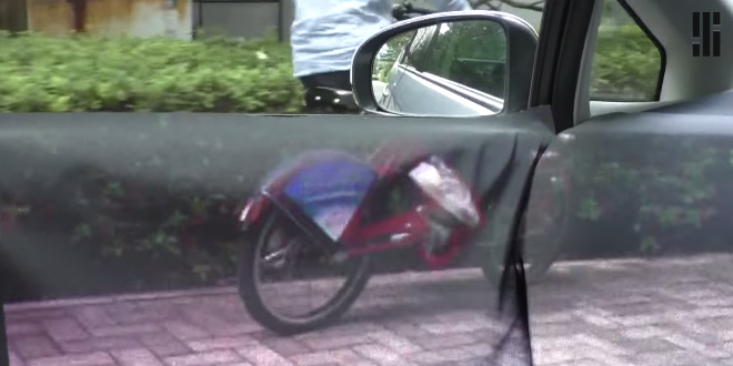 voiture transparente