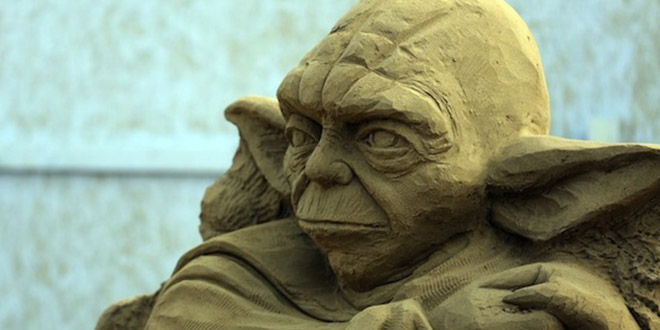 yoda sculpture sable