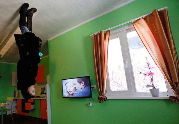 Krasnoyarsk maison inversee russie