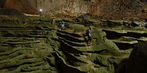 Hang Son Doong grotte Vietnam visiteur