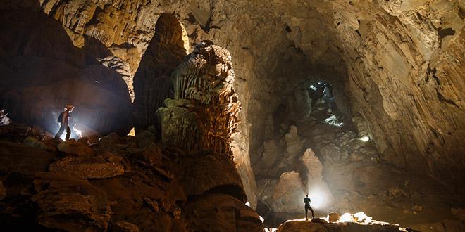 Hang Son Doong grotte geante Vietnam