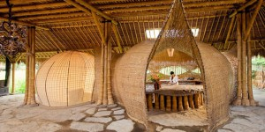 Ibuku bamboo maison insolite