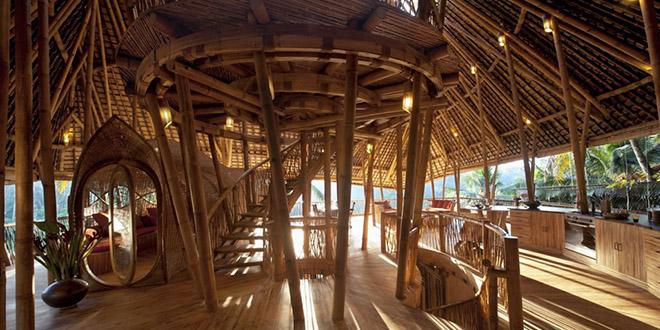 Ibuku bamboo maison