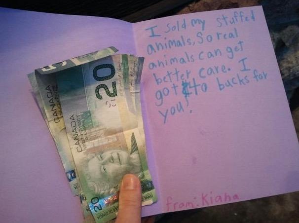 Kiaha vend peluche pour vrais animaux