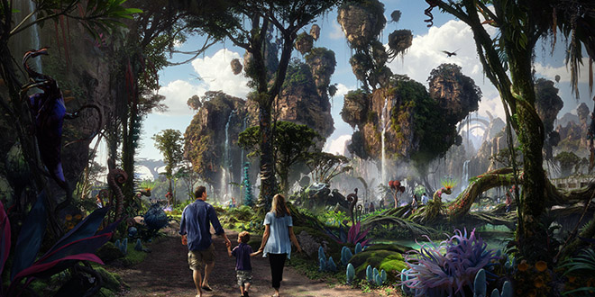 Pandora parc The Land of Avatar