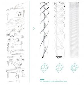 Simin Qiu robinet design conception