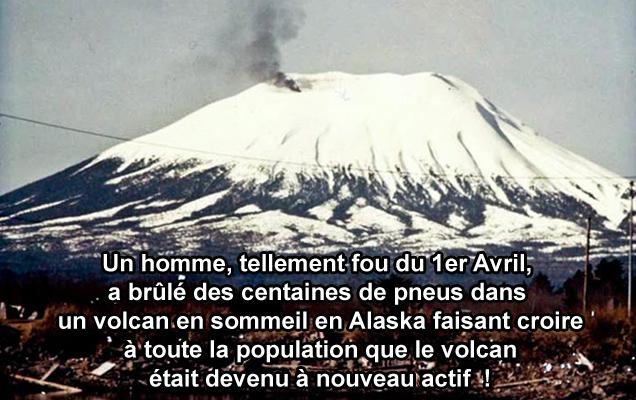 blague alaska volcan