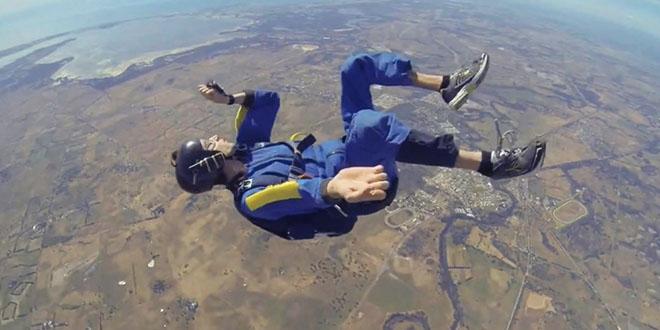 australien malaise chute saut parachute fail
