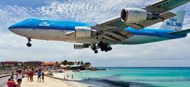avion dangereux atterrissage st martin