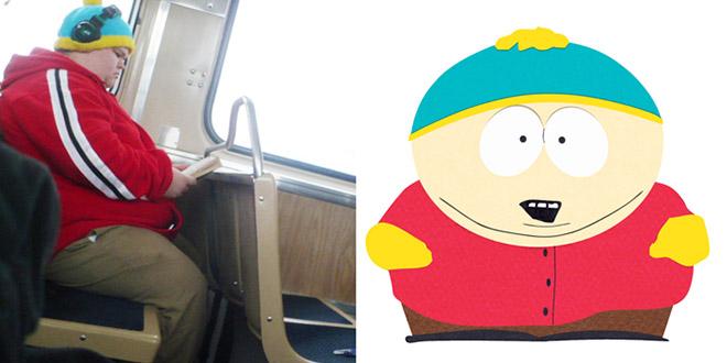 cartman sosie vraie vie south park