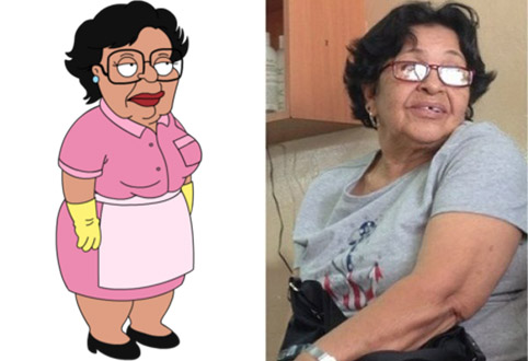 consuela family guy sosie