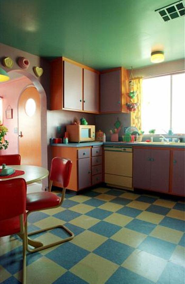 maison simpson vraie vie  reel