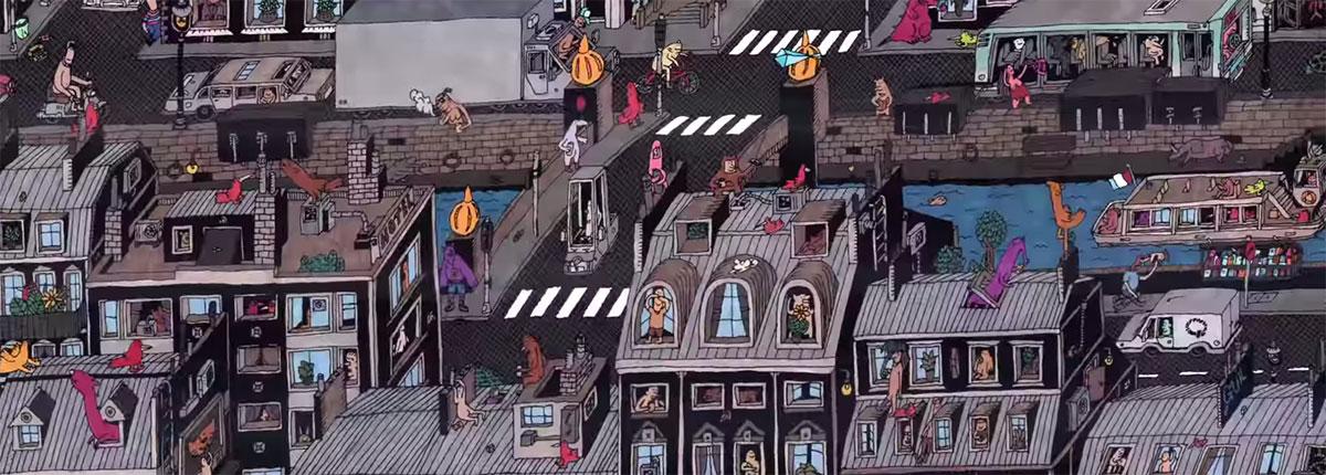 dessin-artiste-toit-paris-quartier
