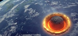 impact asteroide Discovery Channel simulation