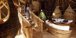 interieur maison Elora Hardy ibuku bambou