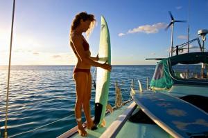 liz clarck ocean voyage solo surf