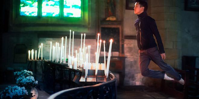 michael jou levitation cierges