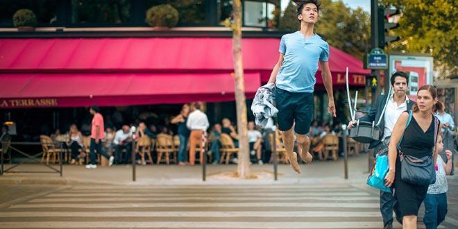 michael jou levitation passage pieton