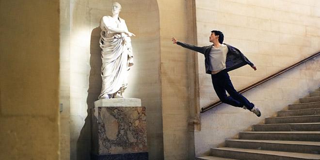 michael jou levitation sculpture