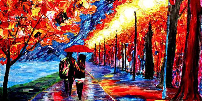 oeuvre peintre non voyant couleur