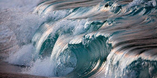pierre Carreau vague turquoise
