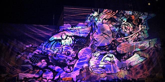 sofles graffiti lumiere anime melbourne white night