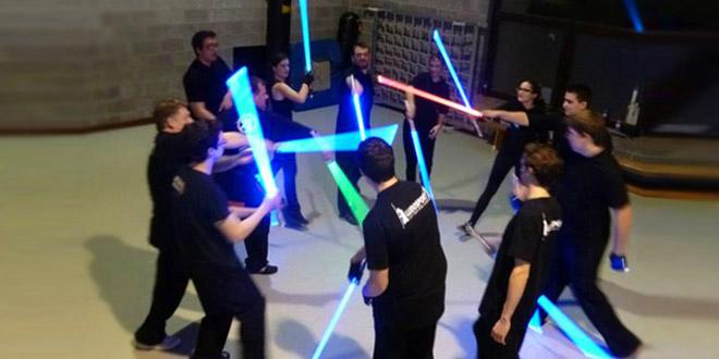 star wars jedi sabre laser