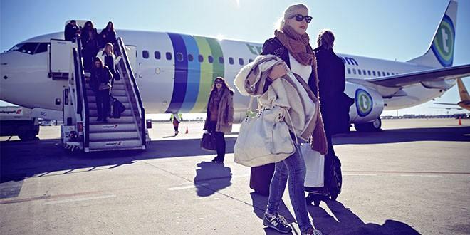 transavia billet avion snack