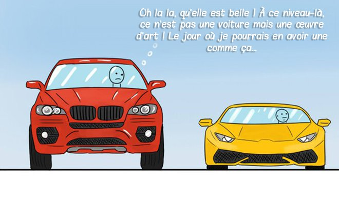 illustration BD morale voiture