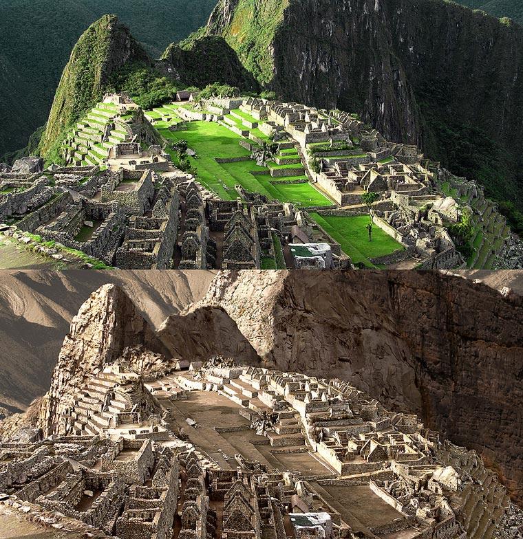 a-quoi-ressembleraient-monuments-monde-grosse-sécheresse