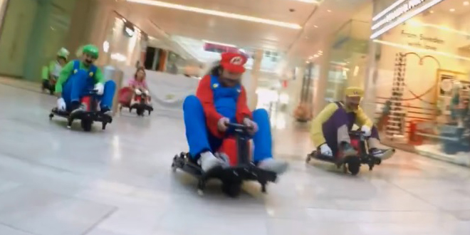 course-mario-kart-centre-commercial-londres