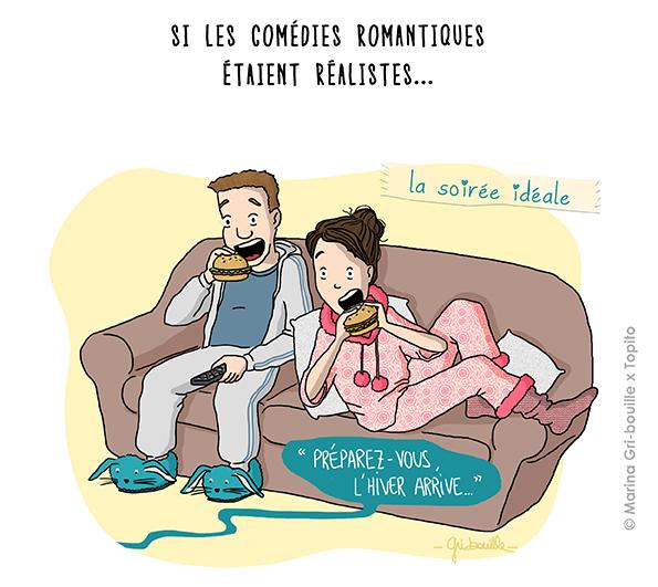 Si les comédies romantiques étaient réelles